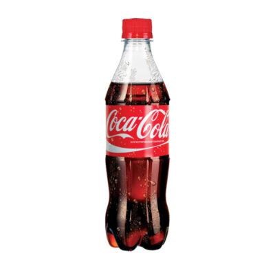 """Газированная вода """"CocaCola"""" 0.5л."""