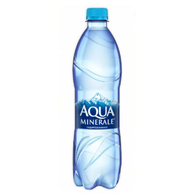 Минеральная вода Газированная 0.5л.